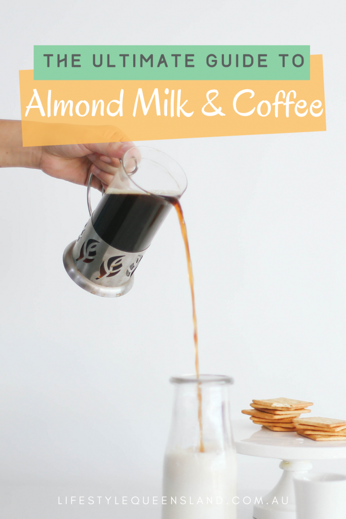 how to make coffee with almond milk