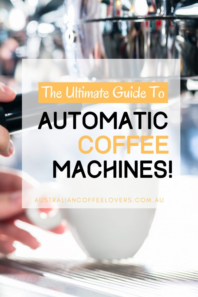 best automatic coffee machine australia pin image