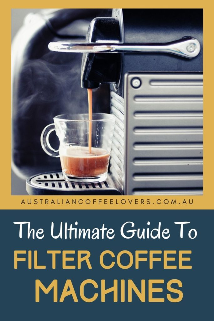 pin image of the best filter coffee machine Australia